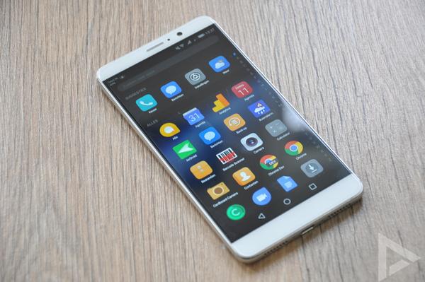 Huawei Mate 9 menu