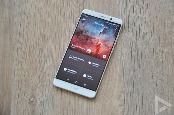 Huawei Mate 9 muziek