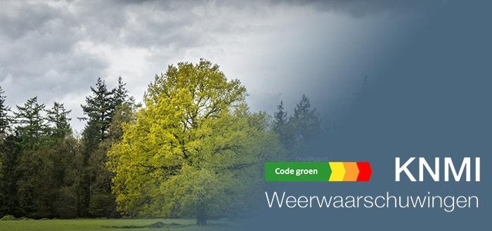 Weerwaarschuwing KNMI app houd je op de hoogte van het weeralarm en meer