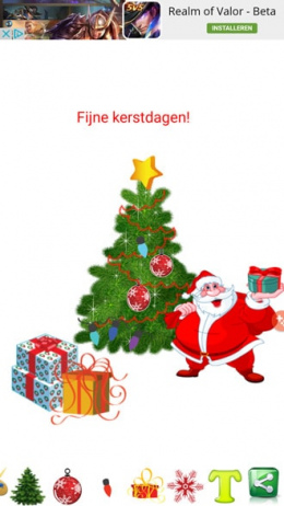 Kerstboom decoratie app