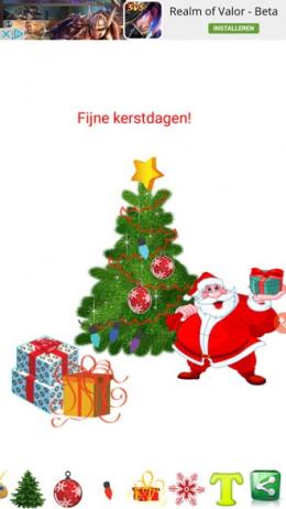 Kerstboom decoratie app