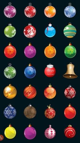 Kerstboom decoratie kerstballen