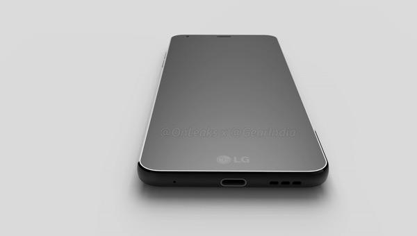 LG G6 3D renders