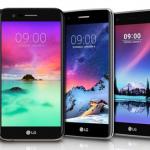 LG presenteert K-serie 2017 (K3, K4, K8 en K10) en nieuwe Stylus 3