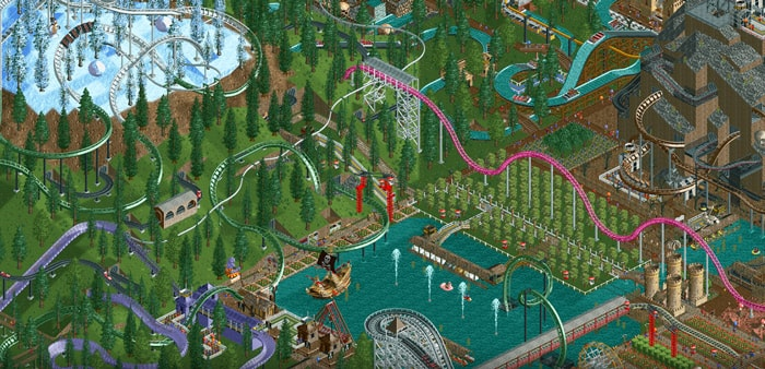 RollerCoaster Tycoon Android