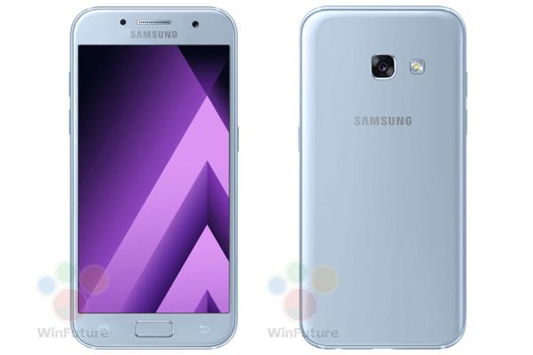 Samsung Galaxy A3 (2017) Coral Blue