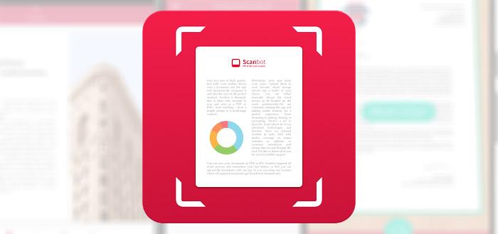 Scan-app Scanbot 6.5 uitgebracht met verbeterd design en nieuwe functies