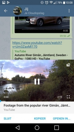 Telegram 3.15 Youtube