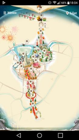 Winterland Breda plattegrond