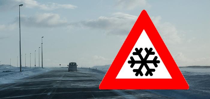Zout Alarm app vertelt je op welke wegen er gestrooid is