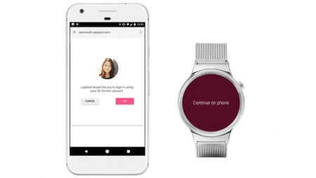 Android Wear developer preview 4