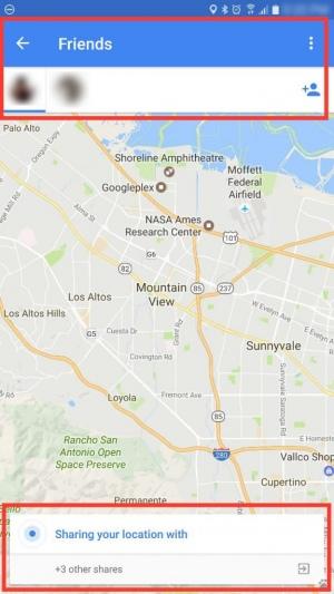 Google Maps locatie delen met vrienden