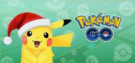 Pokémon Go kerst 2017