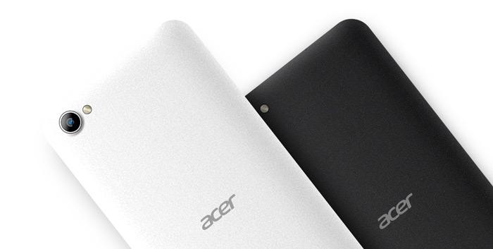 Acer Liquid Z6E achterkant