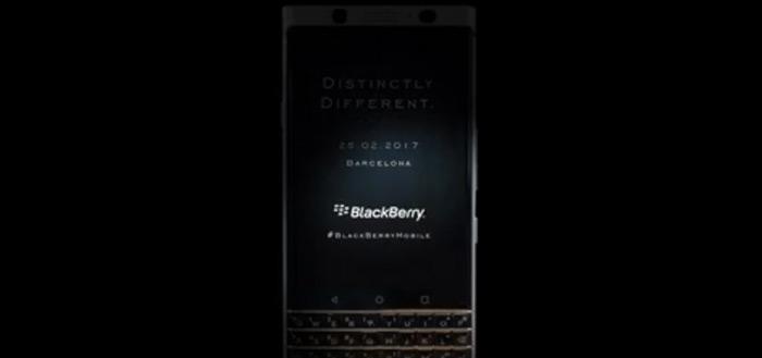BlackBerry toont 25 februari haar laatste Android-smartphone: de Mercury