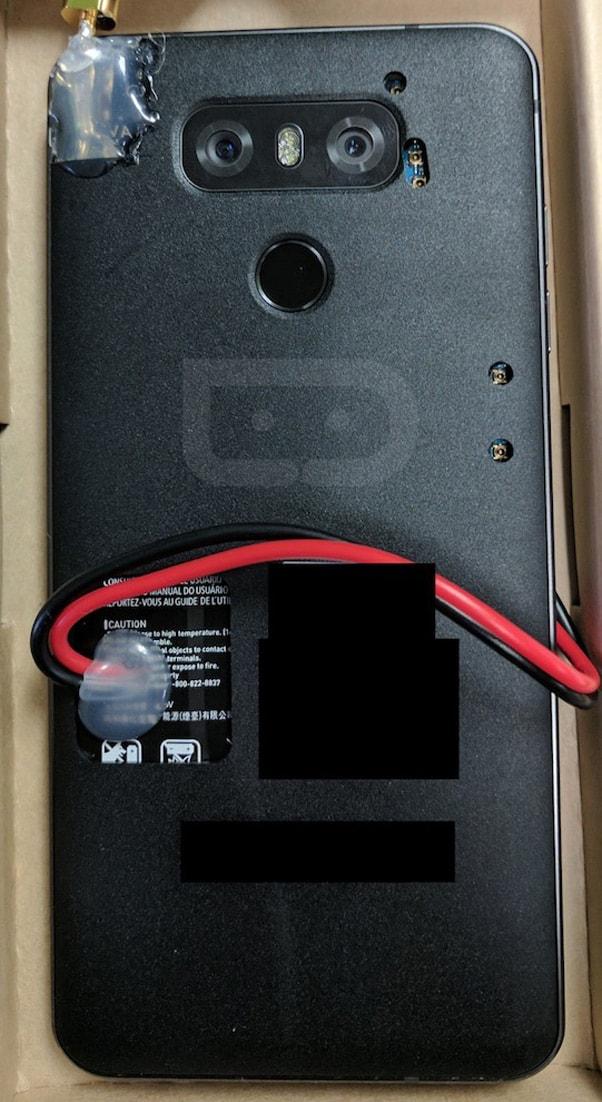 LG G6 prototype