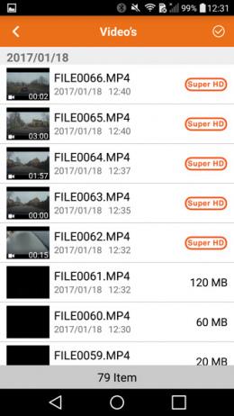Mio Mivue 658 app