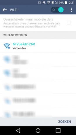 Mio WiFi dashcam
