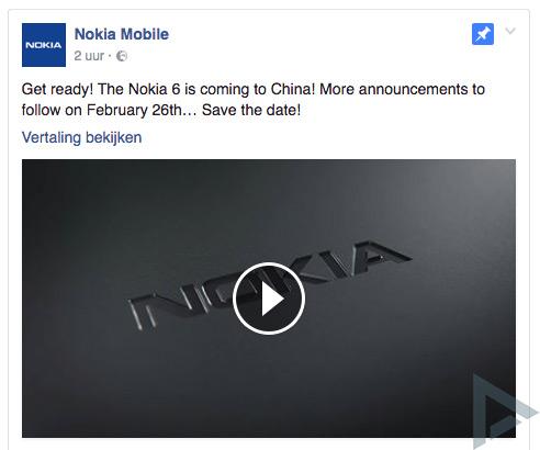 Nokia 26 februari mwc
