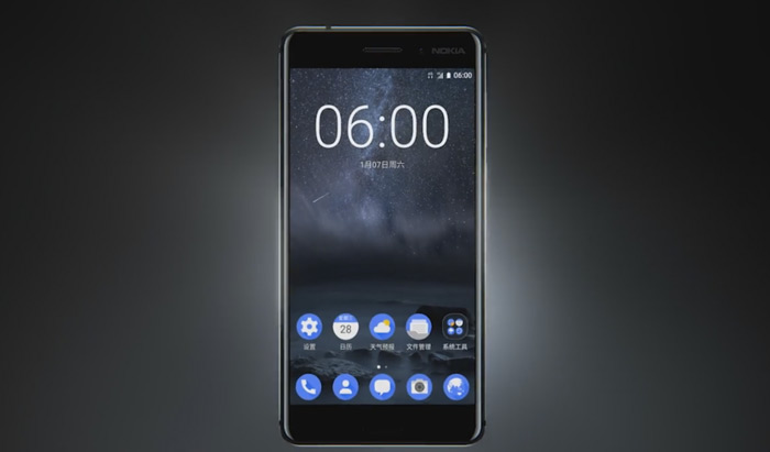 Nokia 6 screen