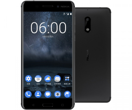 Nokia 6 beveiligingsupdate september