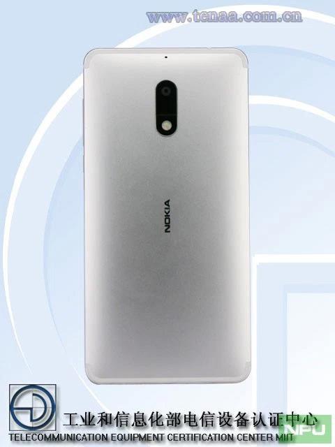 Nokia 6 zilver