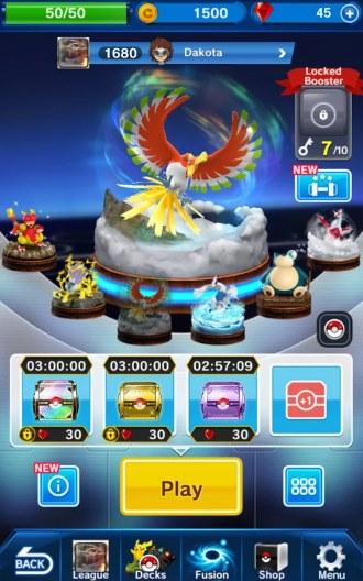 Pokémon Duel game