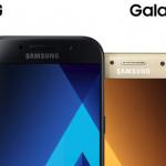 Samsung Galaxy A3 (2017) en A5 (2017) aangekondigd: premium design, interessante prijs