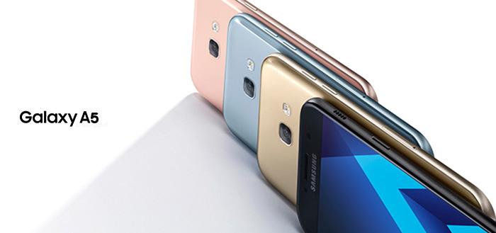 Samsung Galaxy A5 (2017) ontvangt beveiligingsupdate van september