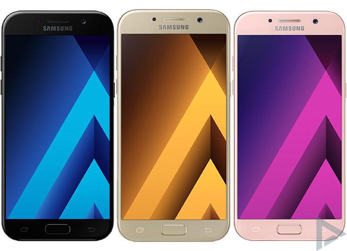 Samsung Galaxy A5 (2017) kleuren