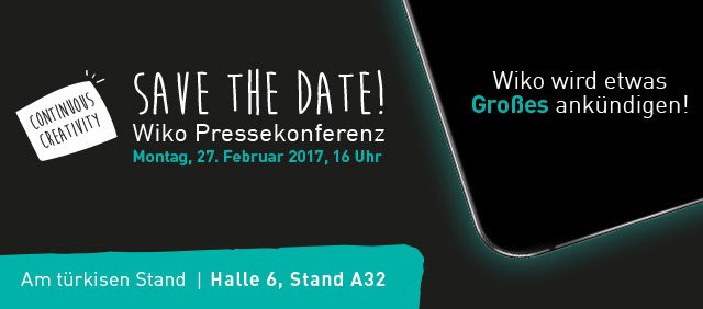 Wiko MWC 2017