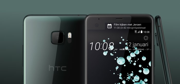 HTC introduceert twee smartphones: de HTC U Ultra en HTC U Play
