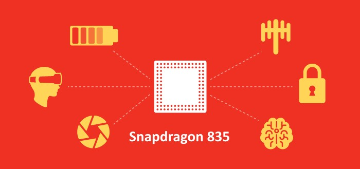 Qualcomm introduceert high-end Snapdragon 835 processor