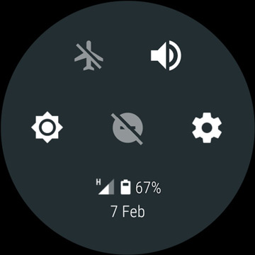 Android Wear 2.0 Shortcut