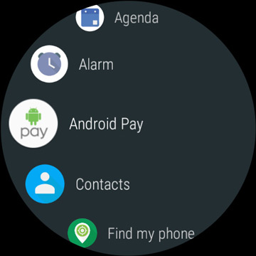 android wear 2.0 app list