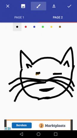 Donald Draws app