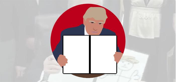 Donald Draws app: maak je eigen 'executive order' gifjes met Trump