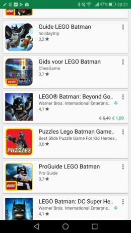 Google Play Store aanbieding