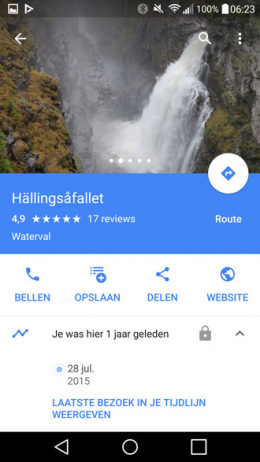 Google Maps delen