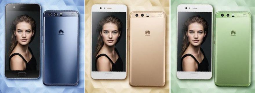 Huawei P10 Kleuren