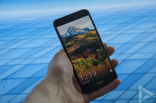 Huawei P8 Lite (2017) design