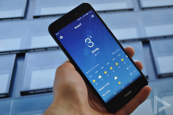 Huawei P8 Lite (2017) weer