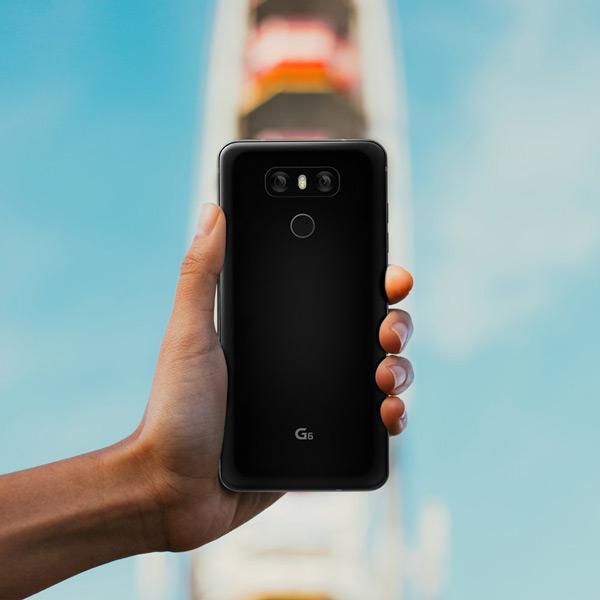 LG G6 achter