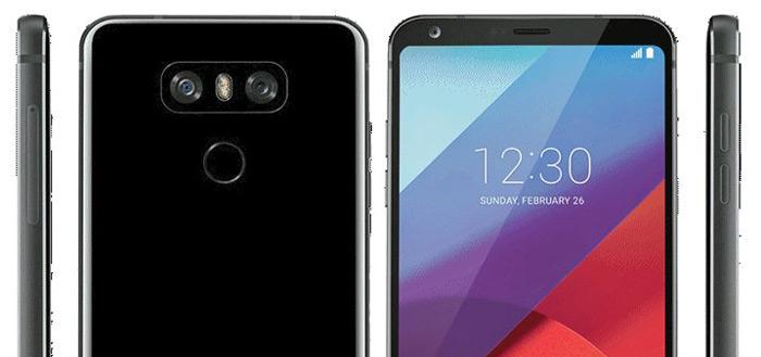 LG G6: eerste persrender en nieuwe video's camera-mogelijkheden