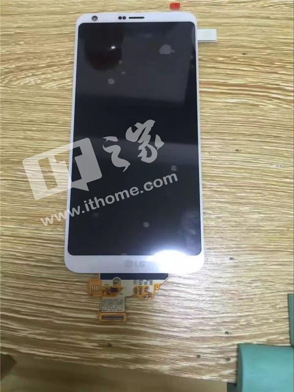 LG G6 scherm