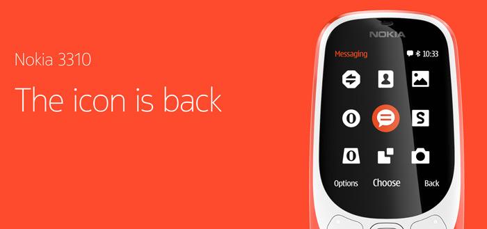 HMD Global komt met vierde nostalgische Nokia in nieuw jasje