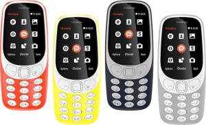 Nokia 3310 2017 kleuren