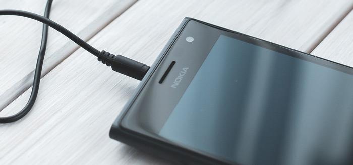 Ontwerpschetsen Nokia 8 en Nokia 9 tonen scherm zonder bezels en dual-camera