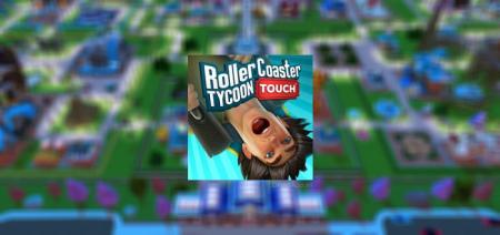 RollerCoaster Tycoon Touch met 3D graphics is nieuwe pretpark-game van Atari