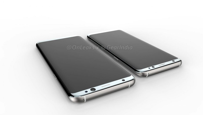 Samsung Galaxy S8 Plus video render